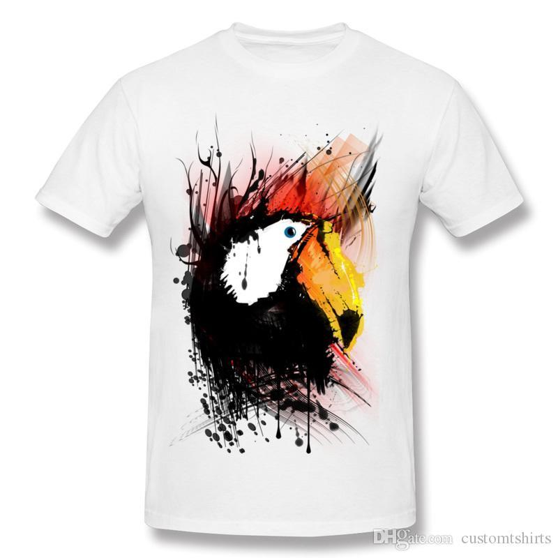 Venda quente Adulto Tecido De Algodão Tukano T Shirt Adulto Em Torno Do Pescoço Preto de Manga Curta T Camisas 3XL Design T Shirt