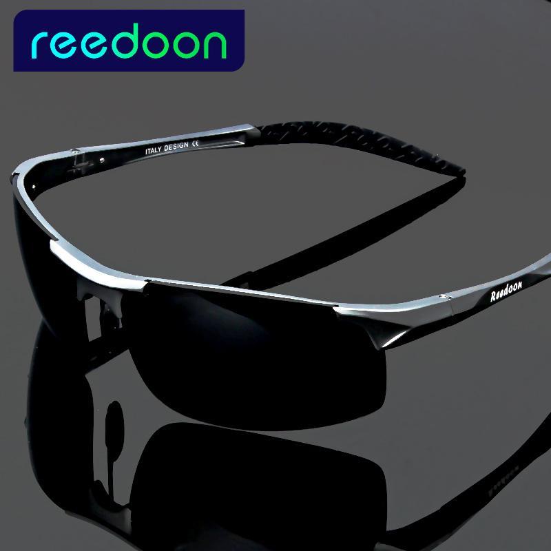 4aed90e867c67 Compre 2017 Polarizada Óculos De Sol Dos Homens De Alumínio Magnésio Quadro  De Condução De Carro Óculos De Sol Dos Homens De Esportes Para A Pesca De  Golfe ...