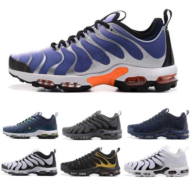 c88d5ee6228cc Nice 2018 PLUS TN ULTRA Running Shoes Air Cushion For Men Sport Shoes  Spikes Shoes Best Running Shoe From Nice sneaker