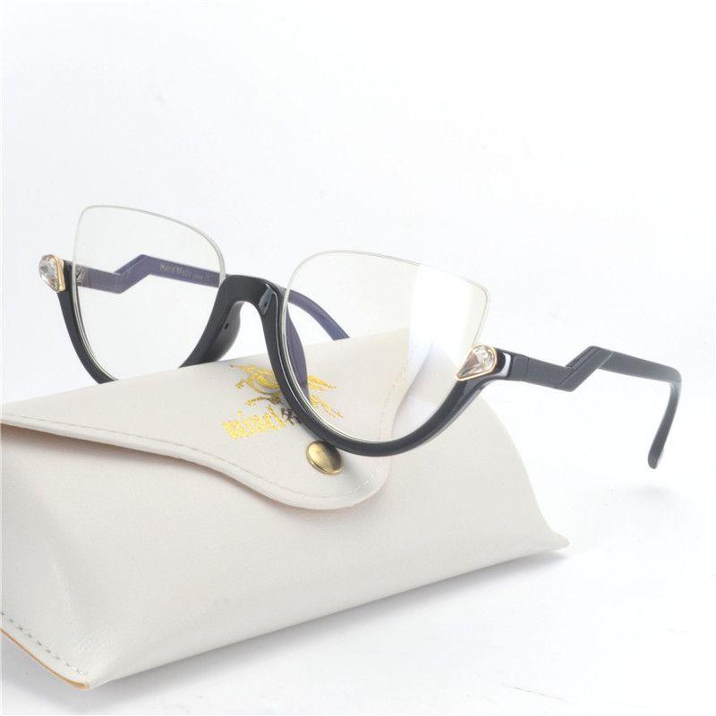 b2ac82c443c MINCL  Cat Style Clear Lens Eyeglasses Frame Women Eyewear Fashion Vintage  Spectacle Optical Eye Glasses Frames For Women NX Eyewear Frames Cheap  Eyewear ...
