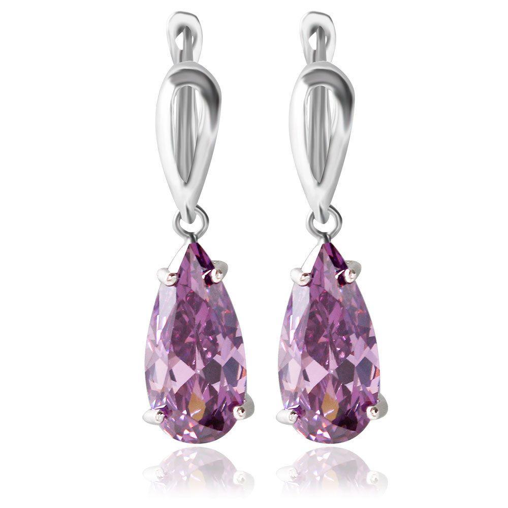 Alta qualità Orecchini di diamanti le donne Orecchini le ragazze Ragazze 2018 Regali di compleanno Idee San Valentino Negozi all'ingrosso di gioielli di lusso