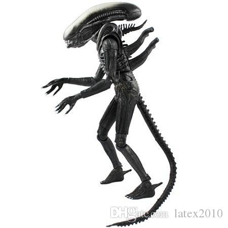 "Free Shipping NECA Official 1979 Movie Classic Original Alien PVC Action Figure Collectible Toy Doll 7"" 18cm MVFG035"
