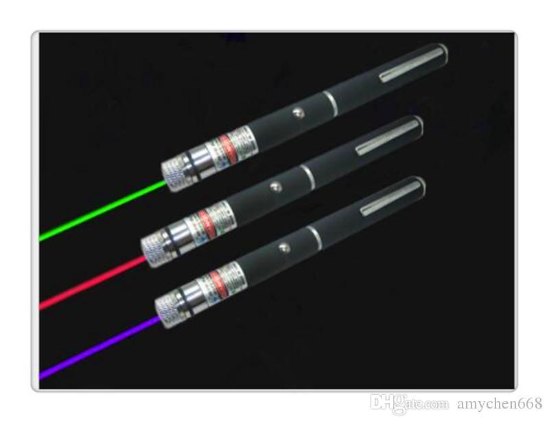 Yüksek kalite Şık 532nm 5 mW Yeşil Işın Işın Işık Lazer Pointer Kalem Bakır Presenter 6 Stilleri Farklı Lazer Desenler