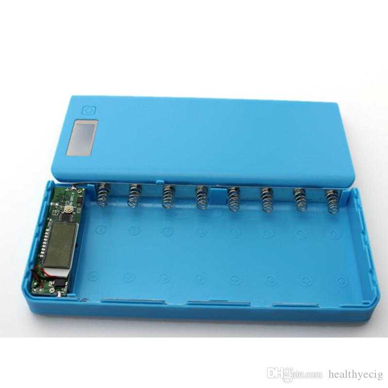 Novo DIY 18650 Caso Banco de Potência Caso Shell Display LCD Portátil Externo 18650 Carregador Da Bateria Caixa