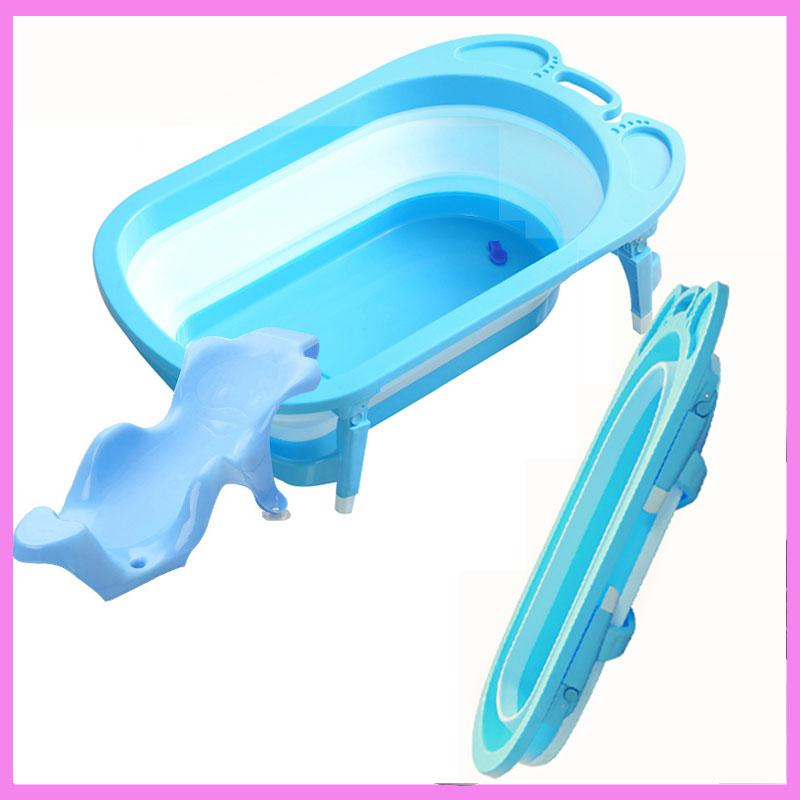 2018 Plastic Baby Bath Tub Shower For Newborns Automatic Folding ...