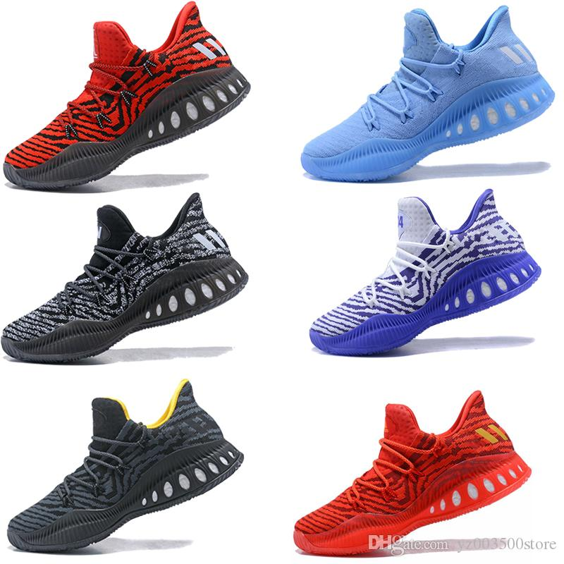 best service c2360 643d8 Acquista Adidas Crazy Explosive Scarpe Da Basket Da Uomo Crazy Explosive  2017 Low PK Rosso Bianco Nero Andrew Wiggins CrazyExplosive Boost Sport  Sneakers ...