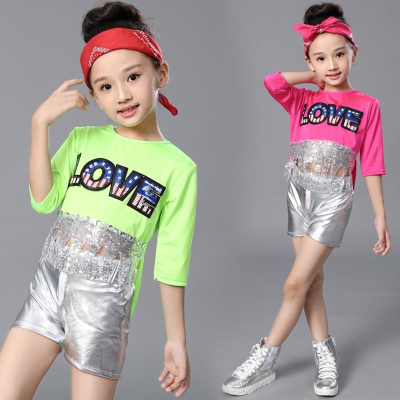 Compre Niños Traje De Baile De Jazz Niños Hip Hop Estudiante Esmoquin Ropa  De Baile Moderno Chicas Porristas Rendimiento Ropa De Baile A  26.52 Del  Shengui ... 86bdff0c219