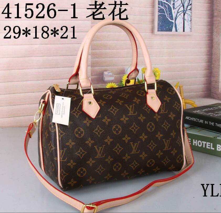 27402e9f3b66 Wholesale- New 2018 Women Bag High Quality PU Backpack Women ...