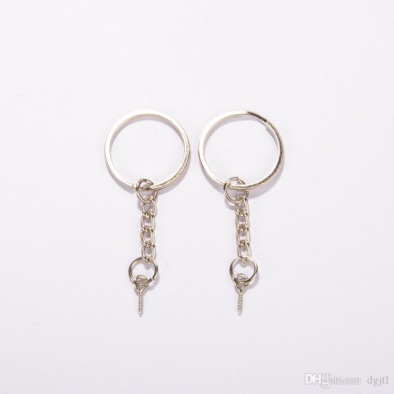 JTL Hot Sale Wholesale Fashion 25mm Key Chain Keyrings Split Rings With  Screw Pin Nickel Plated Jewelry DIY Picture Keychains Make Your Own Keychain  From ... 0b54f566f551