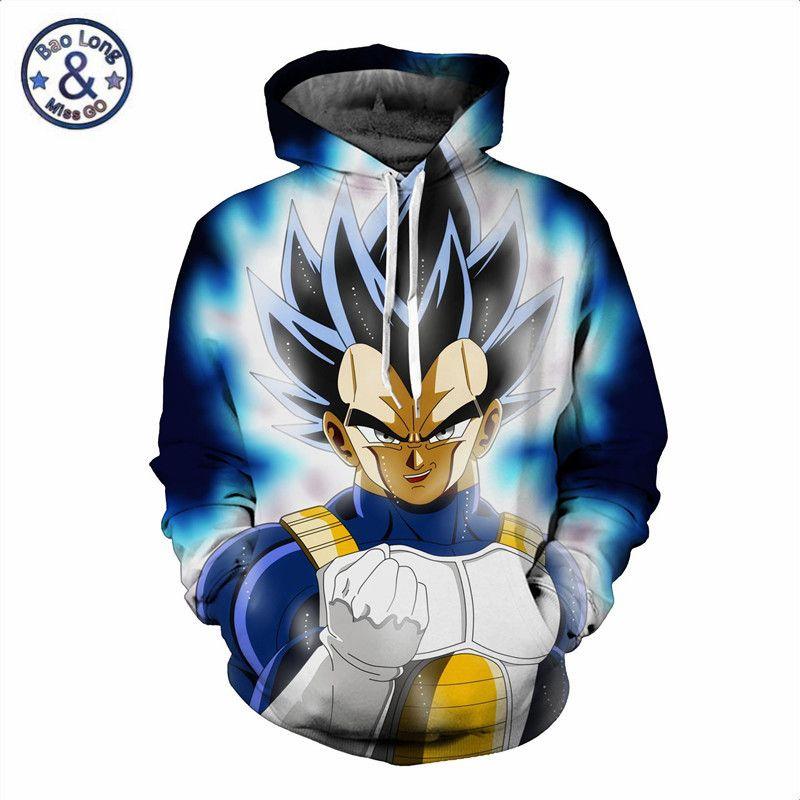 Großhandel Großhandel 3D Sweatshirts Männer Dragon Ball Hoodies Animation Super  Vegeta Saiya Druck Mit Kapuze Sweatshirt Männlichen Mantel Lässig Langarm  ... 8f4ead2eb5