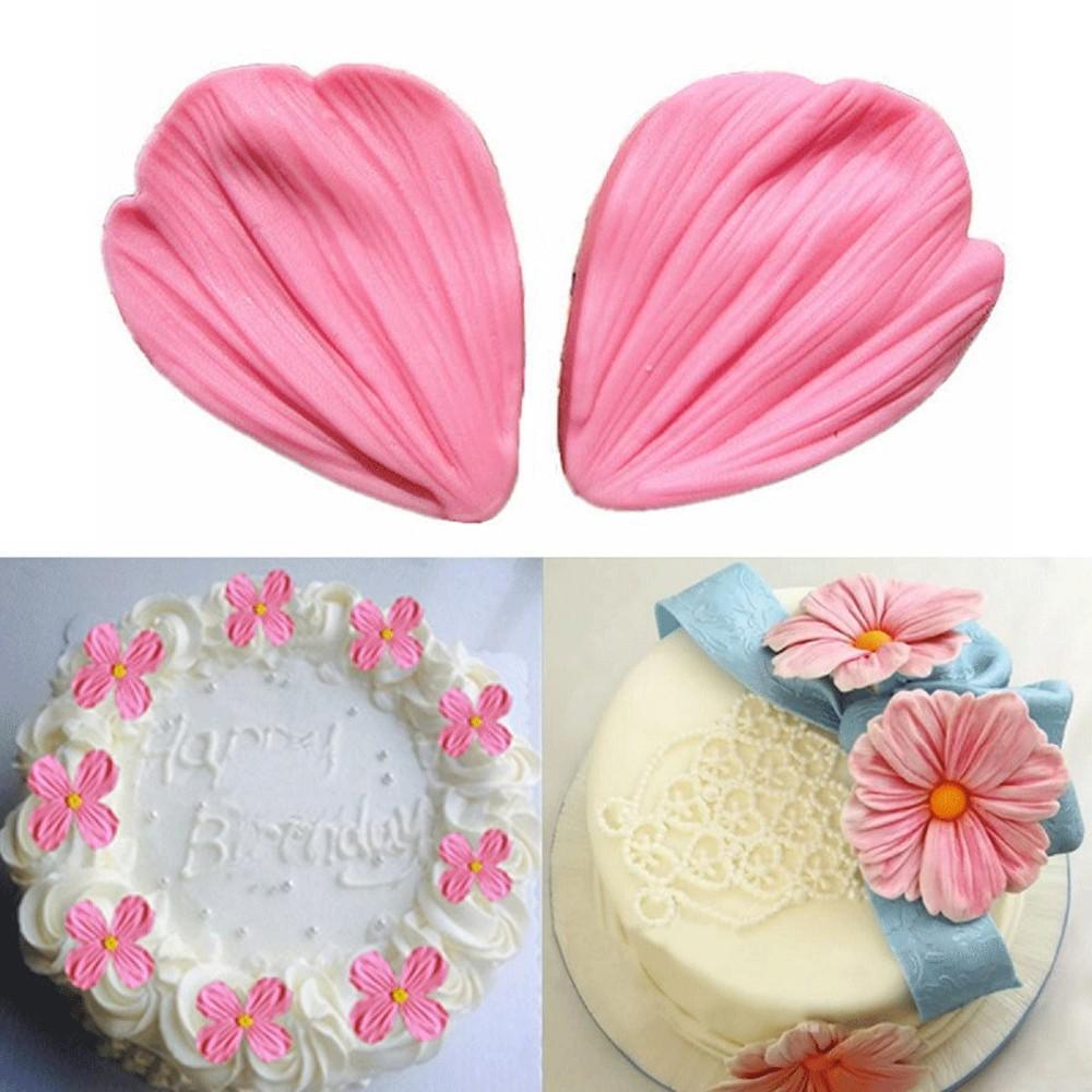 2018 Xibao Daisy Flower Petals Fondant Cake Molds Fondant Decoration