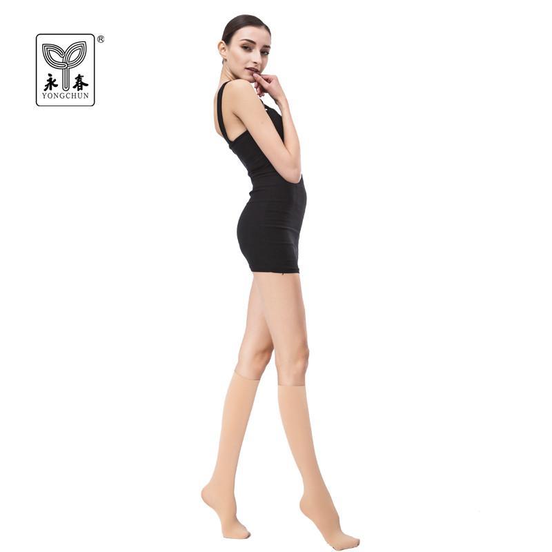 19f04ae6b 2019 YONGCHUN Sock Tube Stockings Female Brand Wire Half Socks Spring  Autumn Knee High Socks Velvet Calf Nylon 3400 From Maoyili