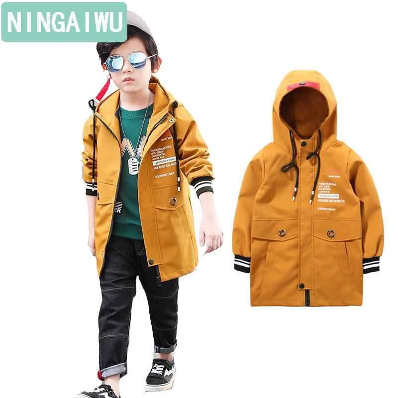 643dd332c Children S Wear New Boys Spring Coat Child Casual Jacket Kids Long ...
