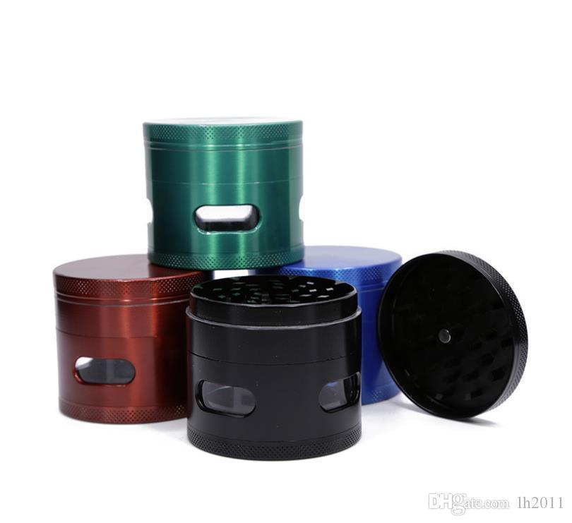 Diámetro 63 MM aleación de zinc de cuatro capas encendedor de cigarrillos nuevo fabricante de cigarrillos cortador de cigarrillos