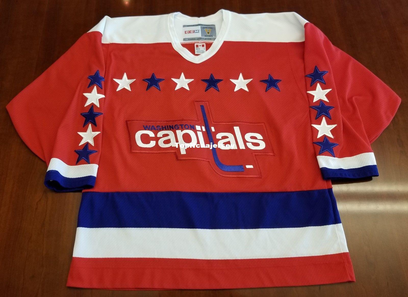 cheap for discount 7fd1e a415d capitals retro jersey