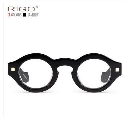 bc267b946c Round Frame Glasses Male Retro Glasses Men  s Boards Glasses Tide ...