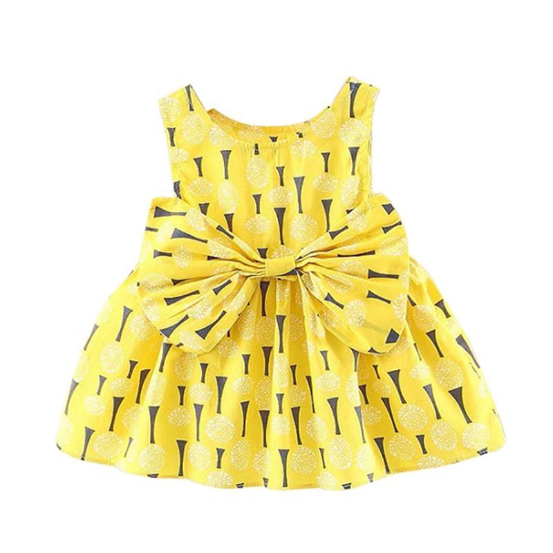 f95fb76eec36 2019 Girls Dress 2018 Summer Chiffon Party Dress Infant 1 Year ...
