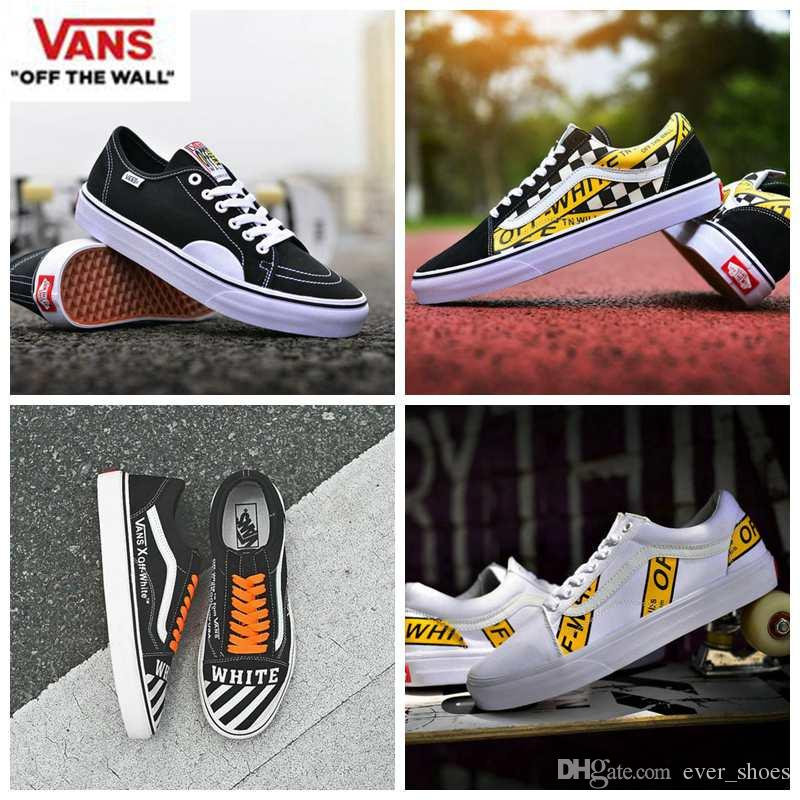 discount best store to get free shipping footlocker pictures 2018 new Vans Off the wall Old Skool Shoes zapatillas de deporte Designer Casual High Top Red White Canvas Retro CLASSIC PRO Sneakers sale online shop outlet cheap quality 2Ve3gj7bD