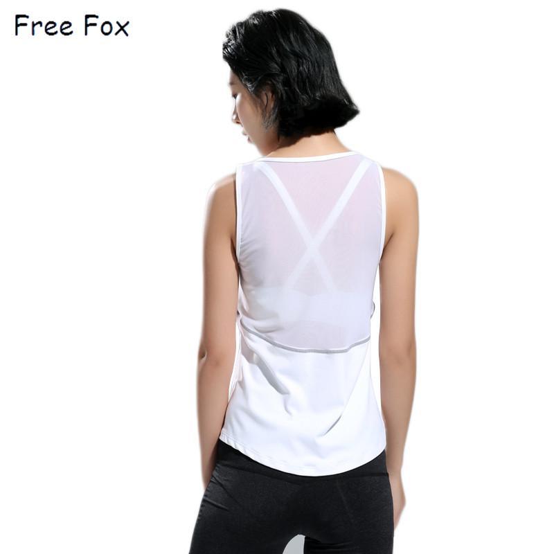 Compre Chaleco Sin Mangas Mujer Yoga Camiseta Camisa De Secado Rápido  Gimnasio Ropa Deportiva Mujer Fitness Correr A  30.36 Del Enjoyweekend  791593482dae