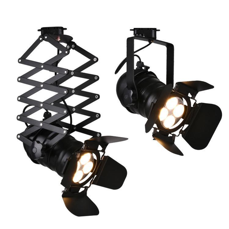Ampoule Rail Commercial Lampe Led Tracking Spot 1pcs Boutique Centre Cob Spotlights Leds Magasin 35w Voie Lumière Pour Fixture 8nmNwv0