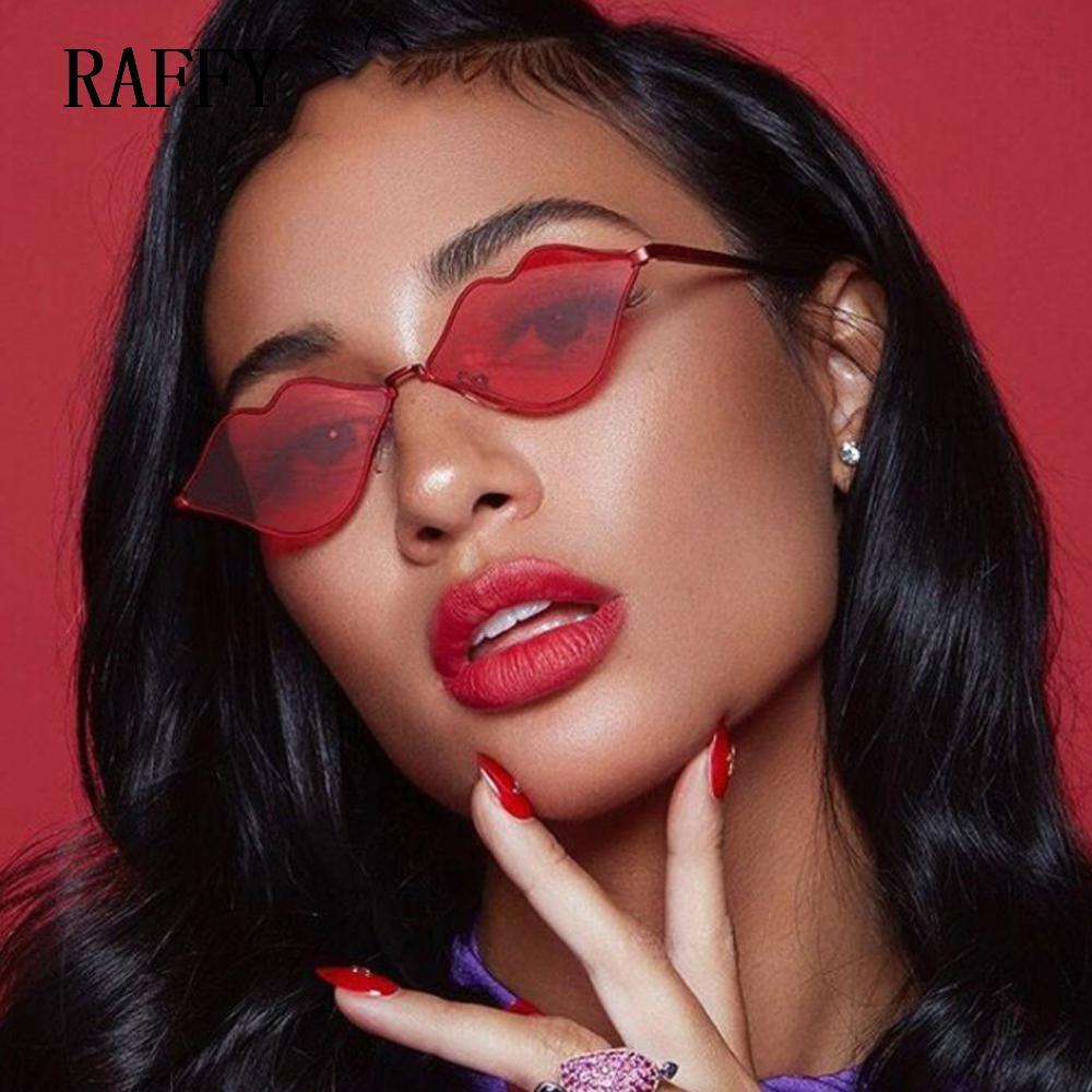 730f1edabe3af Compre Raffy Moda Cat Eye Óculos De Sol Do Vintage Das Mulheres Designer De  Marca Retro Óculos De Sol Feminino Máscaras De Sexo Quadro Oculo De Sol  Uv400 De ...