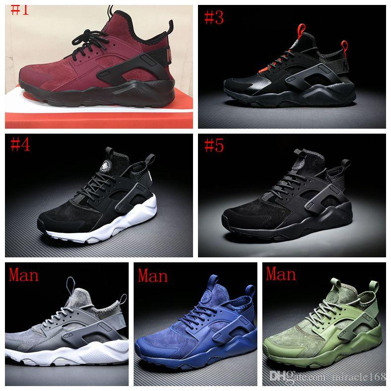 80dbdde0bfb0c 2018 Designer Air Huarache 4 IV Run Ultra Running Shoes Huraches ...