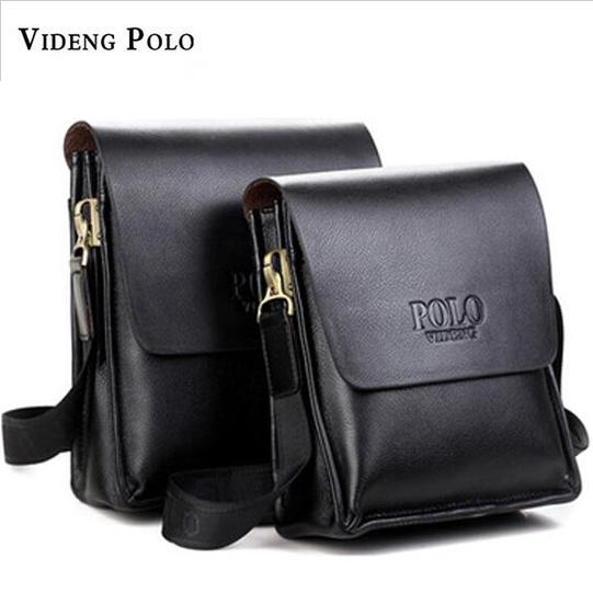 2017 Famous Brand Videng Polo High Quality Leather Men Messenger Bags  Fashion Casual Men Business Crossbody Bags Briefcase M001 S914 Small Purses  Designer ... 23d1165d7e2a4