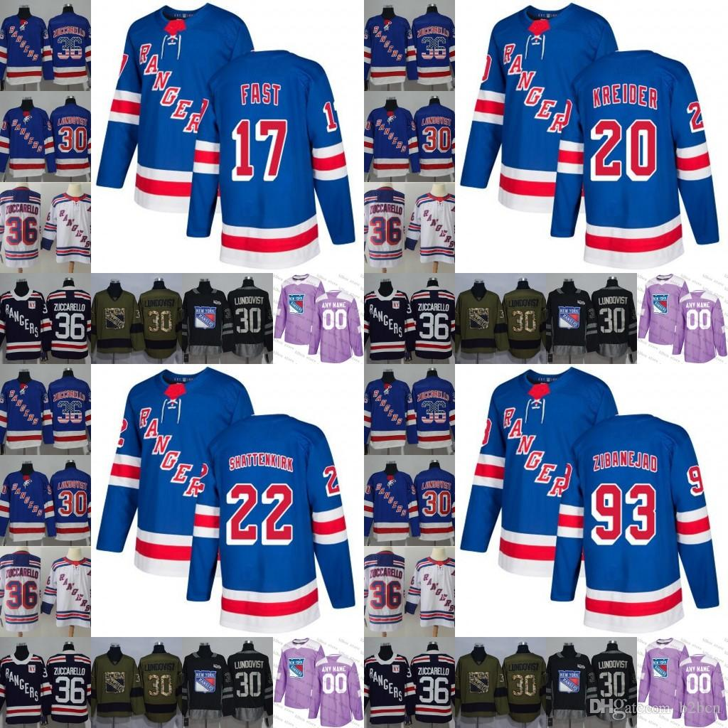 21e77e78e46 2019 2019 New York Rangers 20 Chris Kreider 22 Kevin Shattenkirk 17 Jesper  Fast 93 Mika Zibanejad Hockey Jersey Stitched S 3xl From B2bcn, $43.66 |  DHgate.
