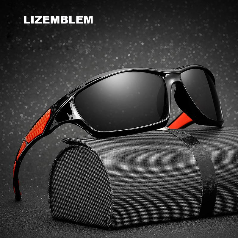 9872aad5f38 Men s Polarized Sunglasses Night Vision Yellow Lens Mirror Coating Sun  Glasses Male Night Driving Safe Windbreak Goggle Eyewear Mens Sunglasses  Police ...