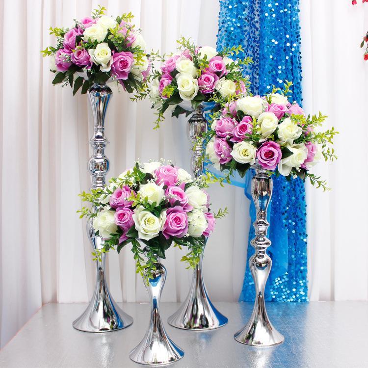 Grosshandel Blume Ball Halter Display Hochzeit Tischdekoration