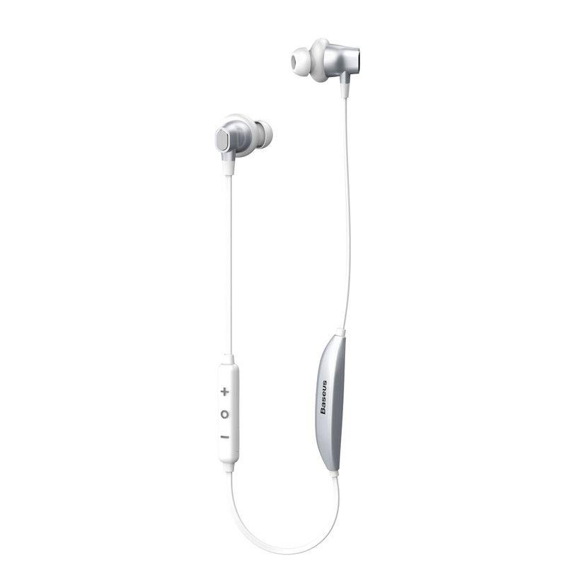 Baseus S03 Auricular Bluetooth Inear Función Inalámbrica Inteligente Magnética Auricular Deportes Neckband AuricularesStereo Bass Universal para Teléfono