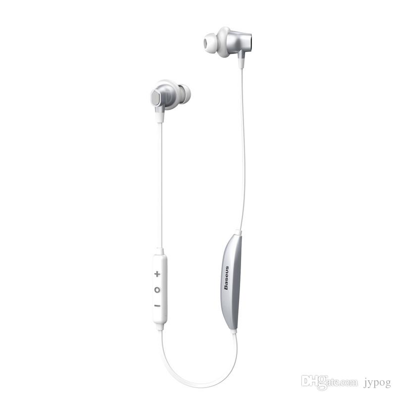 Baseus S03 Bluetooth Écouteur Inear Sans Fil Intelligent Fonction Magnétique Écouteurs Sport Neckband ÉcouteurStereo Bass Universel pour Téléphone