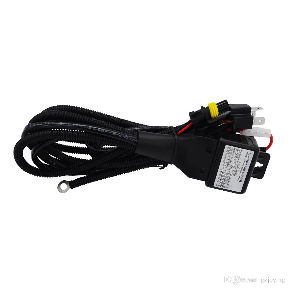 High Quality 35W 55W 12V H4-3 Bi-Xenon Hi/Lo Headlight Wiring Harness on