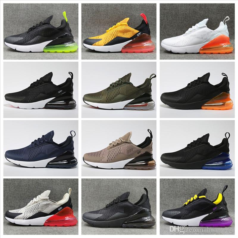pictures online 2018 new Casual Shoes For Sale 270 Men Women Running Plastic Surface Outdoor black white pink Wholesale Sneakers Free Shipping Size 5.5-11 discount recommend clearance footlocker KML7BfuJ