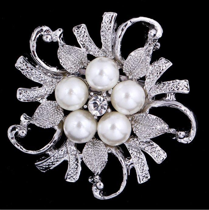 Wedding Bridal Bouquet Gold Penguin Rhinestone Crystal Brooch Pin Jewelry Gift