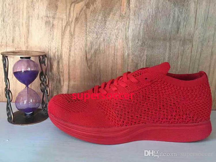 Top Quality Atacado Homens Mulheres Casual Racers Correndo Tênis Treinador Chukka Vermelho Vermelho Azul Cinza Leve Respirável Passeio Caminhada Sapatos 3