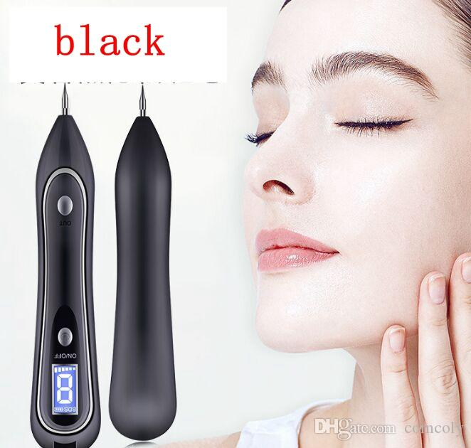 LCD display Mole Removal Dark Spot Remover Pen Skin Wart Tag Tattoo Removal  Tool Laser Plasma Pen Beauty Care