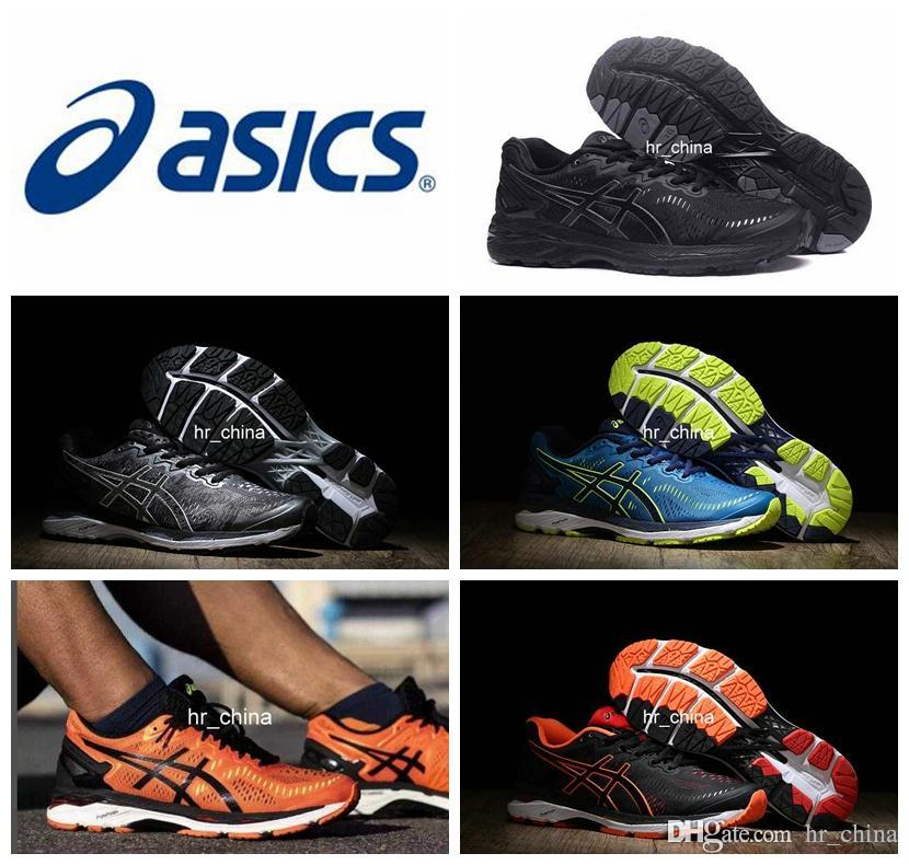 fcec19a73344 Acheter 2018 Prix De Gros Asics Gel Kayano 23 Chaussures De Course Pour Hommes  Nouveau Style Sneakers Bottes De Sport Chaussures De Sport Taille 40.5 45  ...