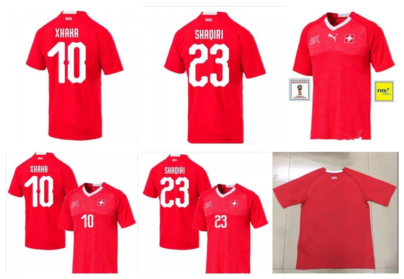 Whosales Discount Switzerland 2018 World Cup Soccer Jerseys ... 5f18448ae95cc