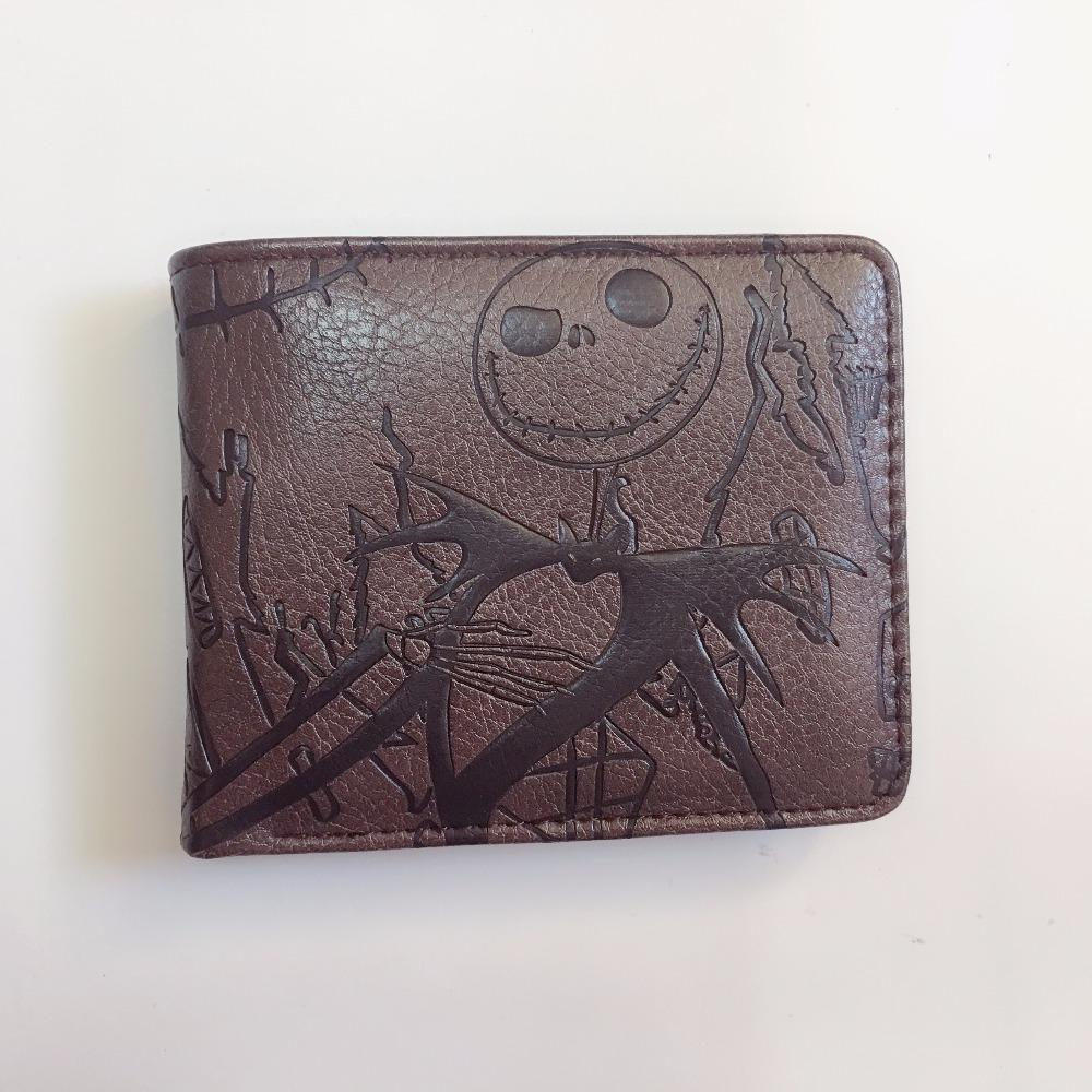 The Nightmare Before Christmas Wallet Cartoon Wallet Women\'S & Men\'S ...