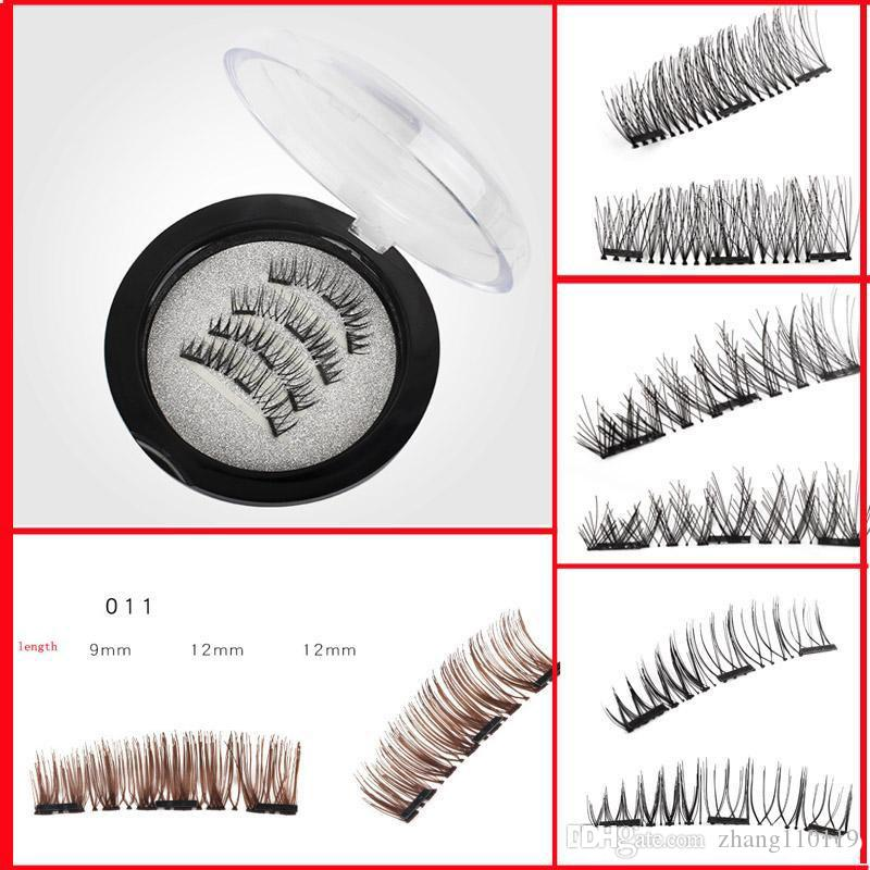 06188949d03 3D Three Magnets Magnetic Eyelashes 11style New Beauty Fake Eye ...