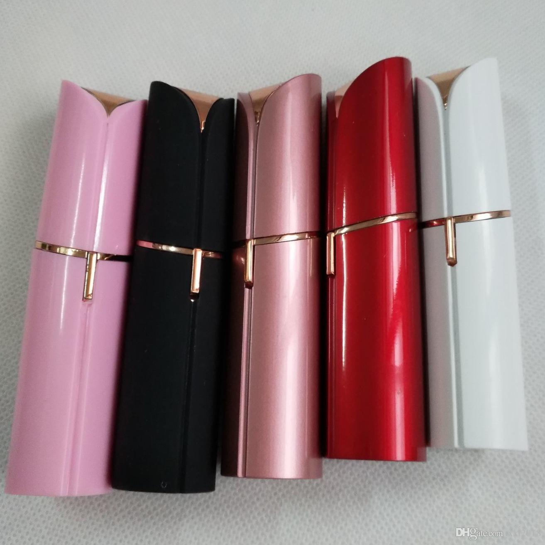 Electric Women Lipstick Shaver Razor Wax Hair Remover Trimmer Shaving Machine Lipstick Shaving Tools