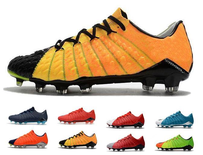 a98e598ec Cheap Mens CR7 Soccer Cleats Hypervenom Phantom III FG Outdoor Soccer Shoes  Low Heel Hypervenoms ACC Mens Ronaldo Football Boots Shoes Soccer Cleats  Soccer ...