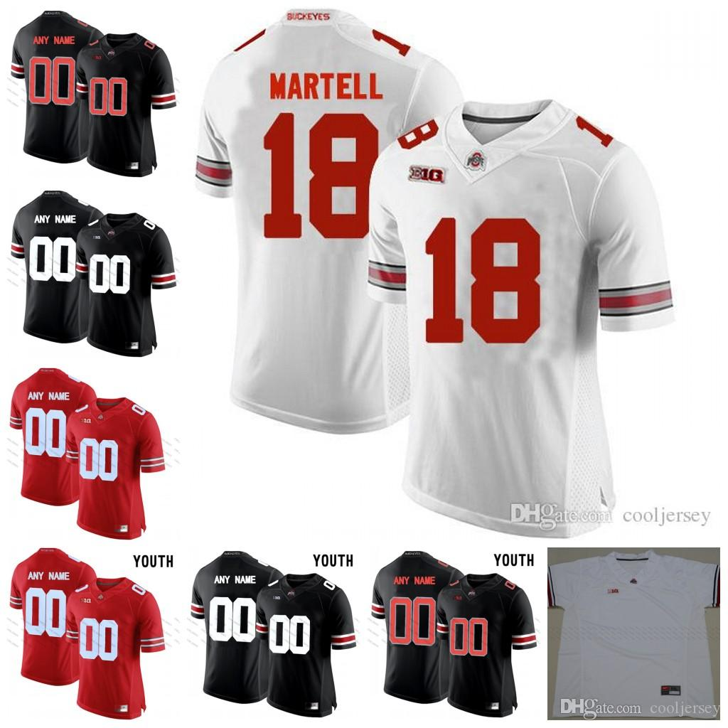 e1135a4907d 2019 NCAA Ohio State Buckeyes College Football 18 Tate Martell 7 Dwayne  Haskins 21 Parris Campbell Jr. Jerseys White Red Black Camo Stitched From  Cooljersey ...
