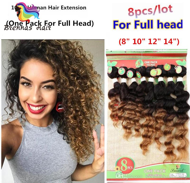 2018 Hot Sale Human Hair Weaving 8 14inch Unprocessed Deep Wave