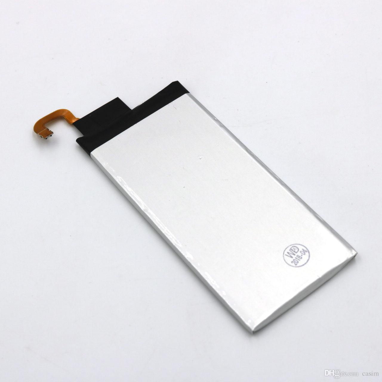 Fabrika Outlet Yüksek Kalite Galaxy S6 Kenar Pil EB-BG925ABE Telefon batterie Samsung Galaxy S6 Kenar Için Dahili Yedek Bateria Akku