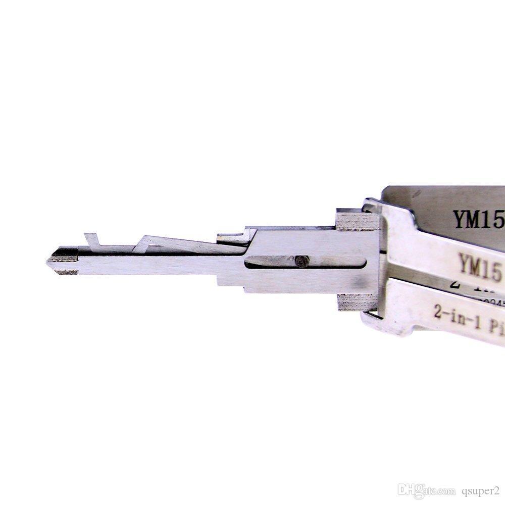 Lishi YM15 2 em 1 lock pick e decodificador