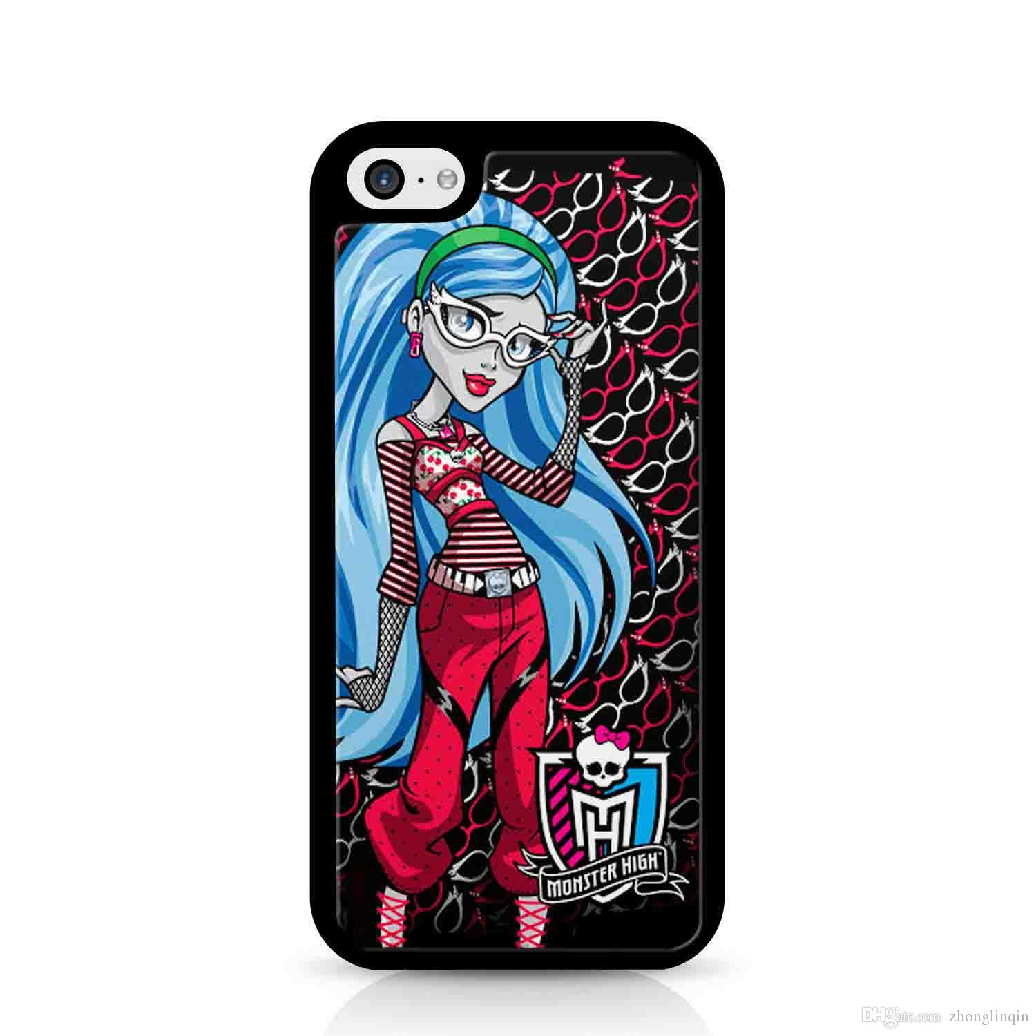 cheap ghoulia yelps monster phone case for iphone 5c 5s 6s 6plus