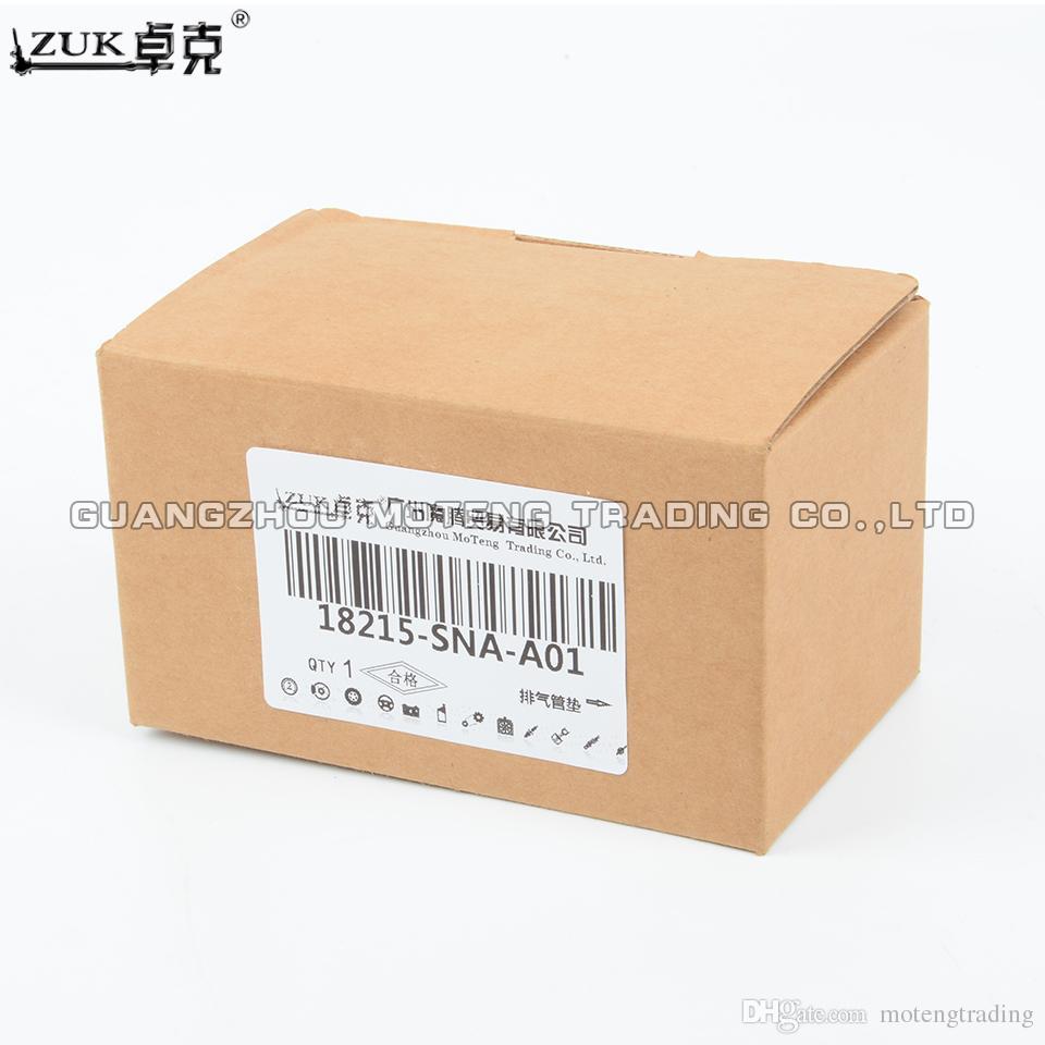 ZUK échappement en caoutchouc Tuyau de montage Joint pour HONDA CIVIC FA1 FD1 FD2 2006-2011 CR-V RE1 / 2/4 CIIMO 2012 OME C14: 18215-SNA-A01