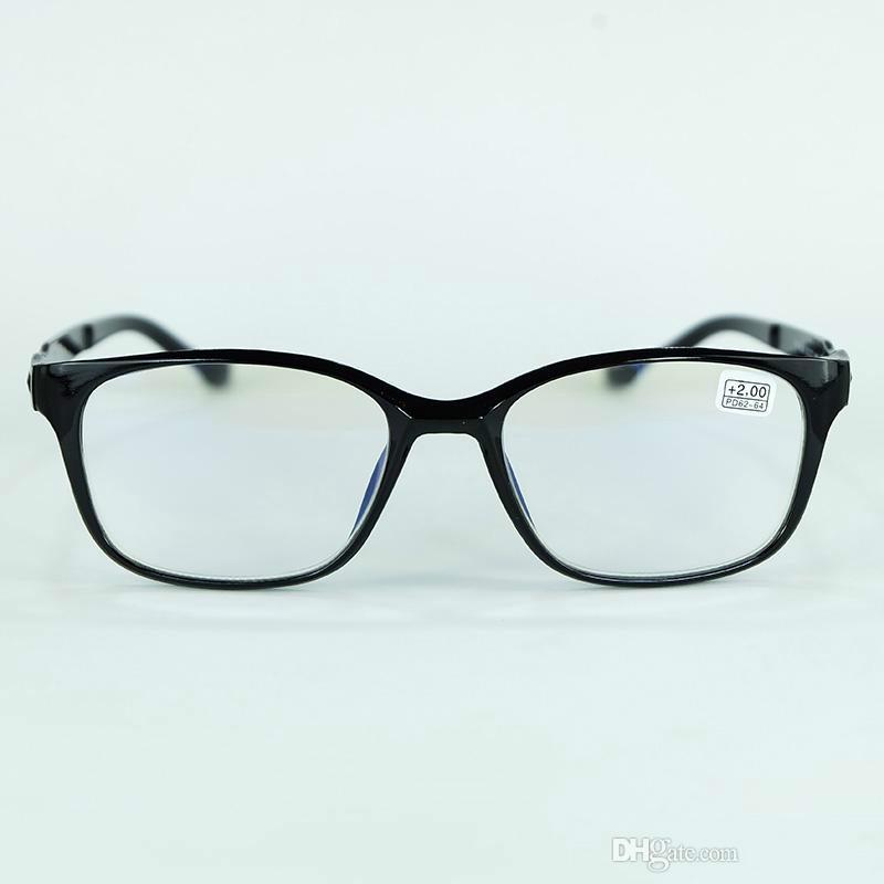 c603a817fde 2018 New Big Eyes Reading Glasses Full Plastic Frame Simple And ...